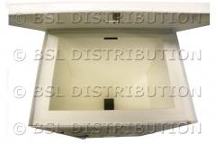 Grande capacit� du r�servoir de lessive DL1000