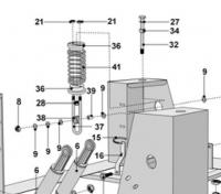 Pièces détachées amortisseur PRIMUS F/FS22.