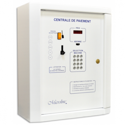 MICROLINE - Centrale de paiement laverie automatique.