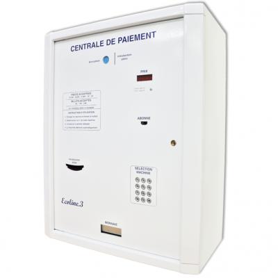 ECOLINE 3KB - Centrale de paiement laverie automatique.