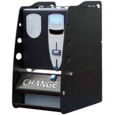 Changeur de monnaie : soit des pièces ou des jetons.