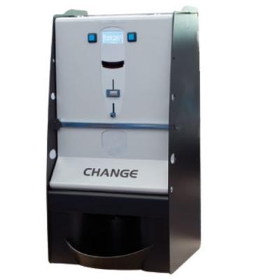 Changeur de monnaie : Distribution des pièces ou des jetons.