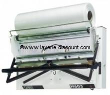 H603M - Emballeuse housseuse de vêtements sur cintre murale