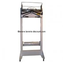 H603B - Emballeuse housseuse de vêtements sur cintre avec bâti