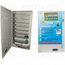 PM65-26 MON - Distributeur de lessive et d'assouplissant en dosettes pour laverie