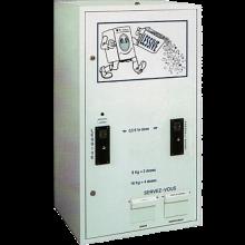 DL2000 - Distributeur de lessive en poudre et d'assouplissant liquide pour laverie