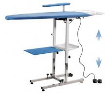 TAS120 - Table à repasser professionnelle pliante aspirante chauffante soufflante