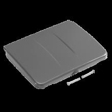 Couvercle gris pour support sac 120L