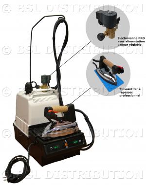 MAGO STIR 5000 - G�n�rateur centrale vapeur chaudi�re 5 litres