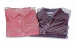 Pochette plastique pour pulls ou chemises pliés 30 x 45 cm
