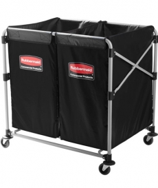 Chariot porte-sacs � linge X-Cart 2x150L