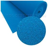 Silicone expansé bleu rigide (vente au mètre)