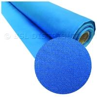 Tissu terylene bleu  polyester (vente au mètre)
