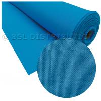 Tissu élastique stretch bleu clair polyester (vente au mètre)