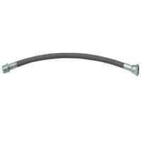 Tuyau flexible ptfe inox  tressé de terylene M.F 1/2 Ø 13mm