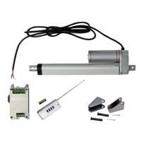 Vérin actionneur linéaire électrique (Kit complet) 200 mm 8