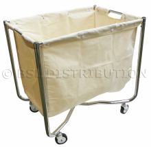 Chariot porte-sac à linge 250 L