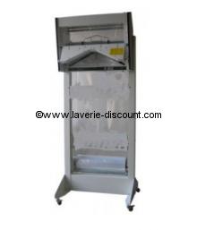 H602B - Emballeuse housseuse de vêtements sur cintre avec bati