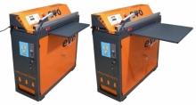 Emballeuse Scelleuse Evo semi-automatique pour emballer et souder sous vide dans les Laveries libre-service
