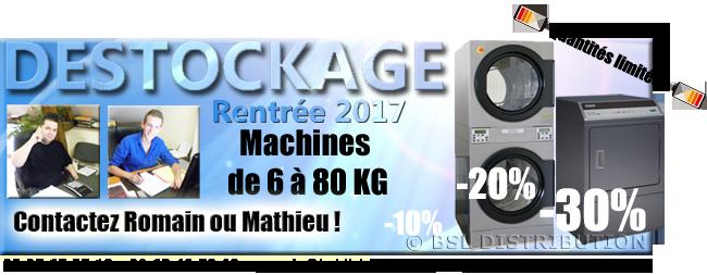 28/08/2017 - Du nouveau matériel en déstockage jusqu'à -30% !