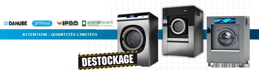 Machines à laver professionnelles - Déstockage