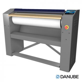 DANUBE R25 - Repasseuse à rouleau professionnelle, cylindre de 1400x250 mm Automatique.