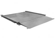 Plateforme de Pesage Professionnelle INOX avec 1 Rampe incluse. Portée 150 à 3000kg. ( PLP Inox )