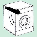 Programmateur électromécanique vert/bleu/jaune/marron, Inverseur, Pressostat
