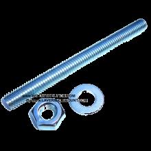 Tige FIL. M10 x 110 acier.BI pour scellement chimique