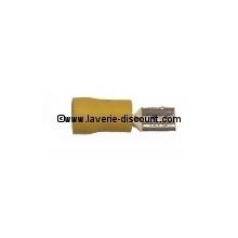 Cosse plate femelle isolée pour câblage Faisceau chauffage 6.3 pour câble 4-6MM2