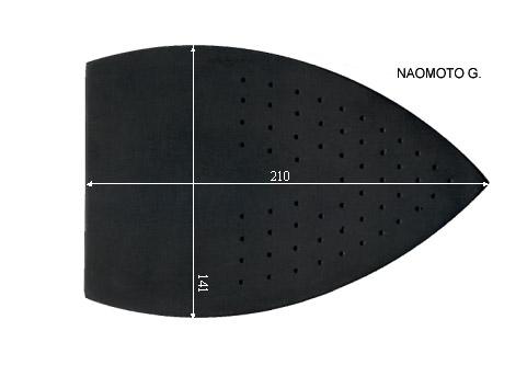 V.2700 NAOMOTO GRANDE      SEMELLE TEFLON FER A REPASSER RENFORCEE