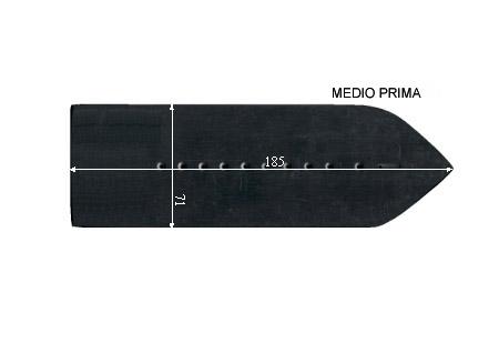 V.3100 MEDIO PRIMA      SEMELLE TEFLON FER A REPASSER RENFORCEE