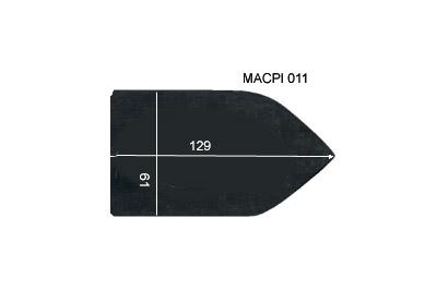 V.3300 MACPI 011      SEMELLE TEFLON FER A REPASSER RENFORCEE