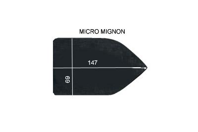 V.3750 MICRO MIGNON      SEMELLE TEFLON FER A REPASSER RENFORCEE