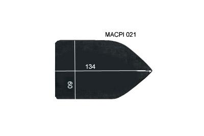 V.4000 MACPI 021      SEMELLE TEFLON FER A REPASSER RENFORCEE