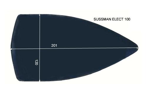 V.4950 SUSSMAN ELECT 100      SEMELLE TEFLON FER A REPASSER RENFORCEE