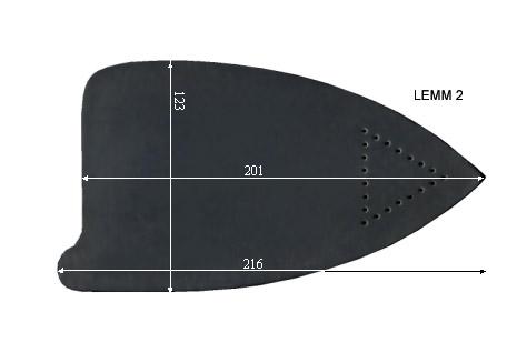 V.5100 LEMM 2      SEMELLE TEFLON FER A REPASSER RENFORCEE