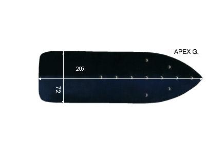 V.5250 APEX GRANDE      SEMELLE TEFLON FER A REPASSER RENFORCEE