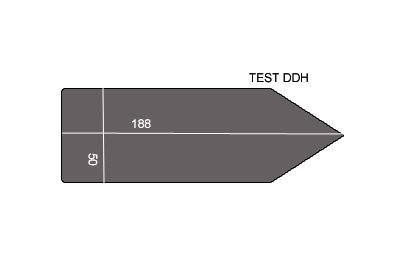V.5300 TEST DDH      SEMELLE TEFLON FER A REPASSER RENFORCEE