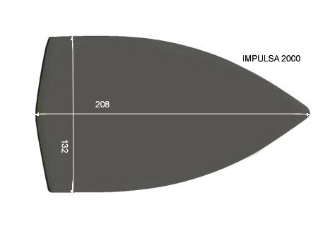 V.5700 IMPULSA 2000      SEMELLE TEFLON FER A REPASSER RENFORCEE
