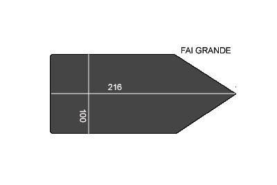 V.6200 FAI GRANDE      SEMELLE TEFLON FER A REPASSER RENFORCEE