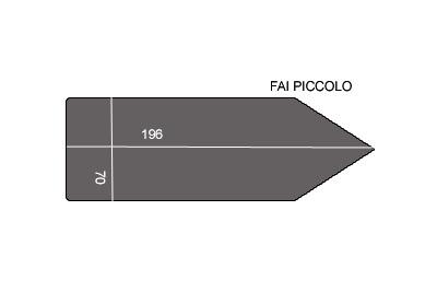 V.6250 FAI PETIT      SEMELLE TEFLON FER A REPASSER RENFORCEE