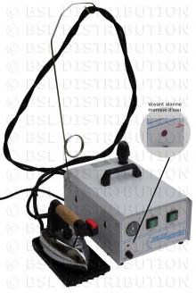 MOD.370 - Générateur centrale vapeur chaudière INOX 2 litres