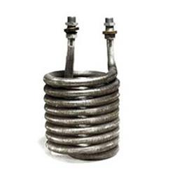 Serpentin Nickelé pour condensateur.