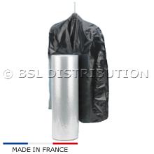 Rouleau de 250 housses 600 x 1250 avec 2 soufflets de 200 en 25µ pour couverture ou couette