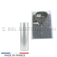Rouleau de 500 housses 450 x 650, pour pull, pantalon ou chemise plié