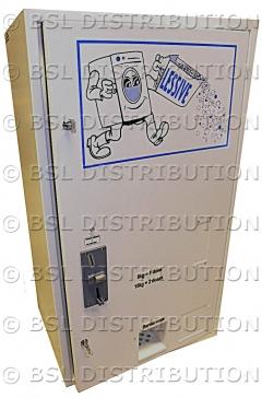 Vue d'ensemble du distributeur de lessive DL1000
