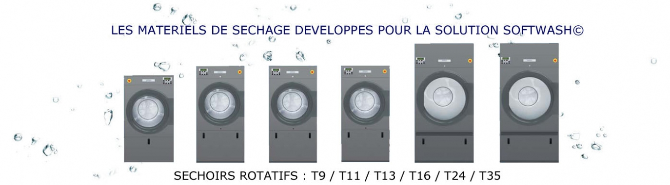 LES MATERIELS DE SECHAGE DEVELOPPES POUR LA SOLUTION SOFTWASH© PRIMUS