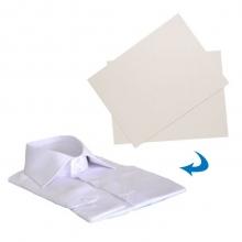 Plastron en carton pour chemise 24 x 38 cm, 250 pcs