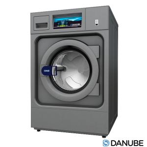 DANUBE WPR8 - Laveuse Essoreuse 8 KG Professionnelle, Cuve suspendue, Super essorage.